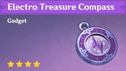 Gadget Electro Treasure Compass