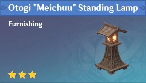 Otogi Meichuu Standing Lamp