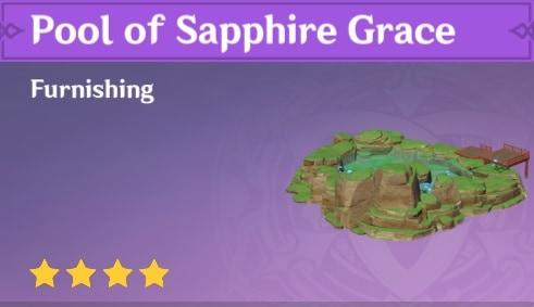 Pool of Sapphire Grace