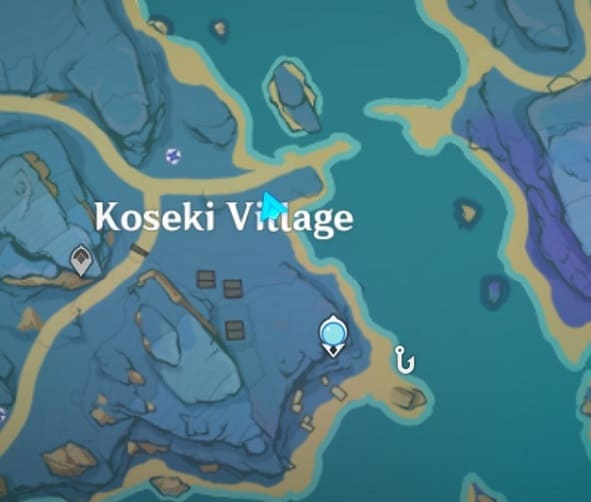 The Silent Fishing Village Map