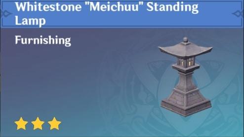 Whitestone Meichuu Standing Lamp