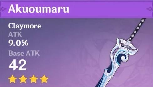 4 Star Claymore Akuoumaru