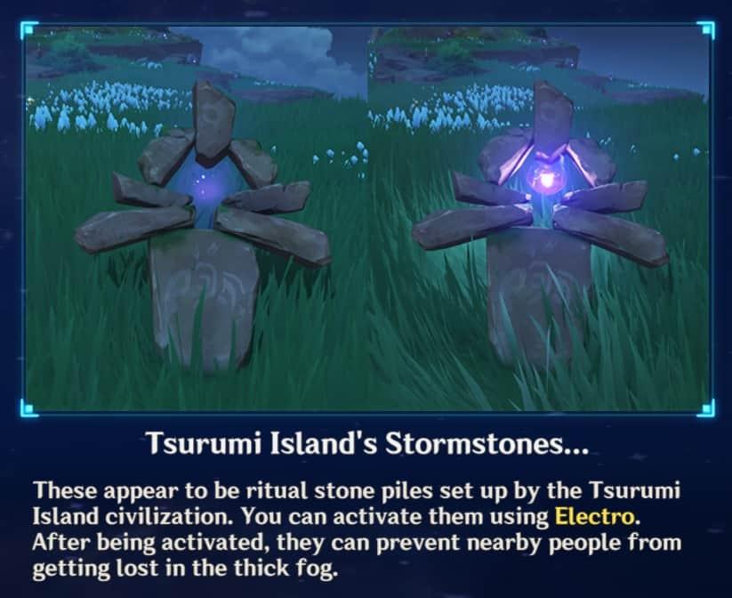 Tsurumi Island Stormstones